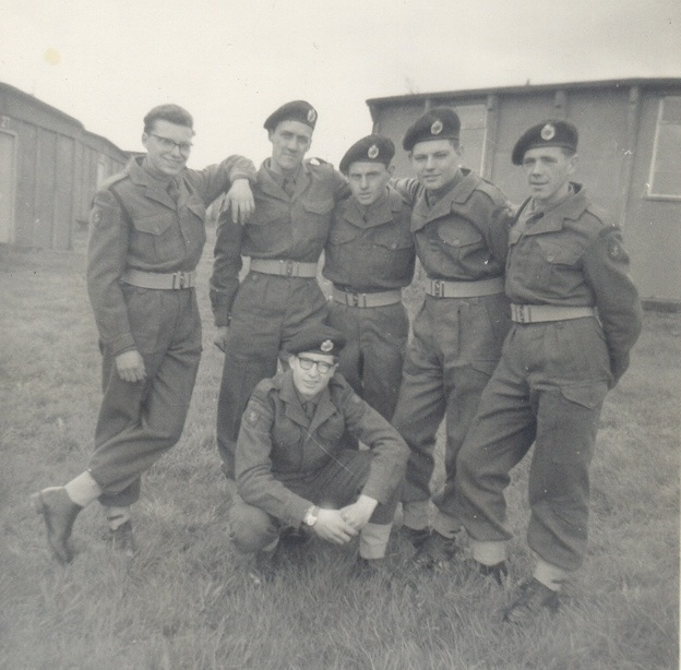 at annual camp in the early 60s